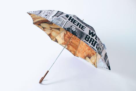 Fish & Chips Umbrella