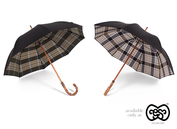 London Undercover Double Layer umbrellas available exclusively at The Garbstore