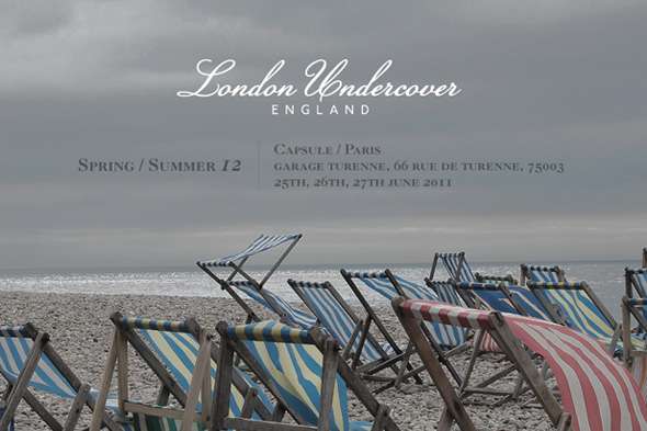 Capsule Spring Summer 12 London Undercover
