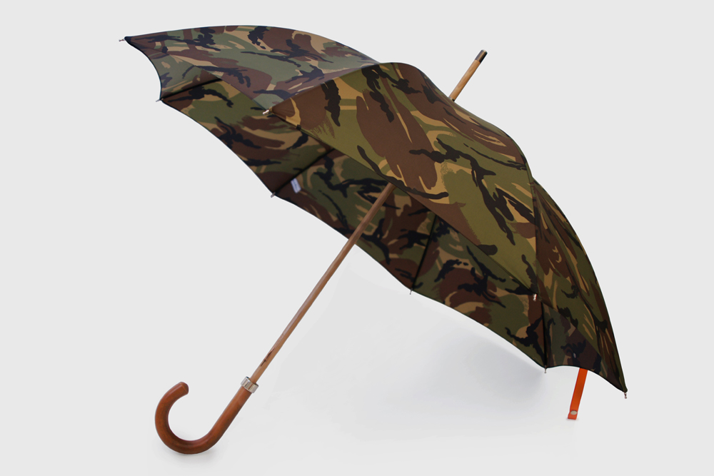 City Gent British Woodland Camouflage Umbrella