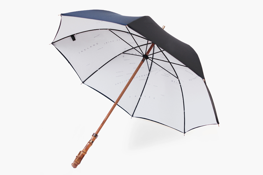 L.U.G.B Naval Battle Map Umbrella by London Undercover