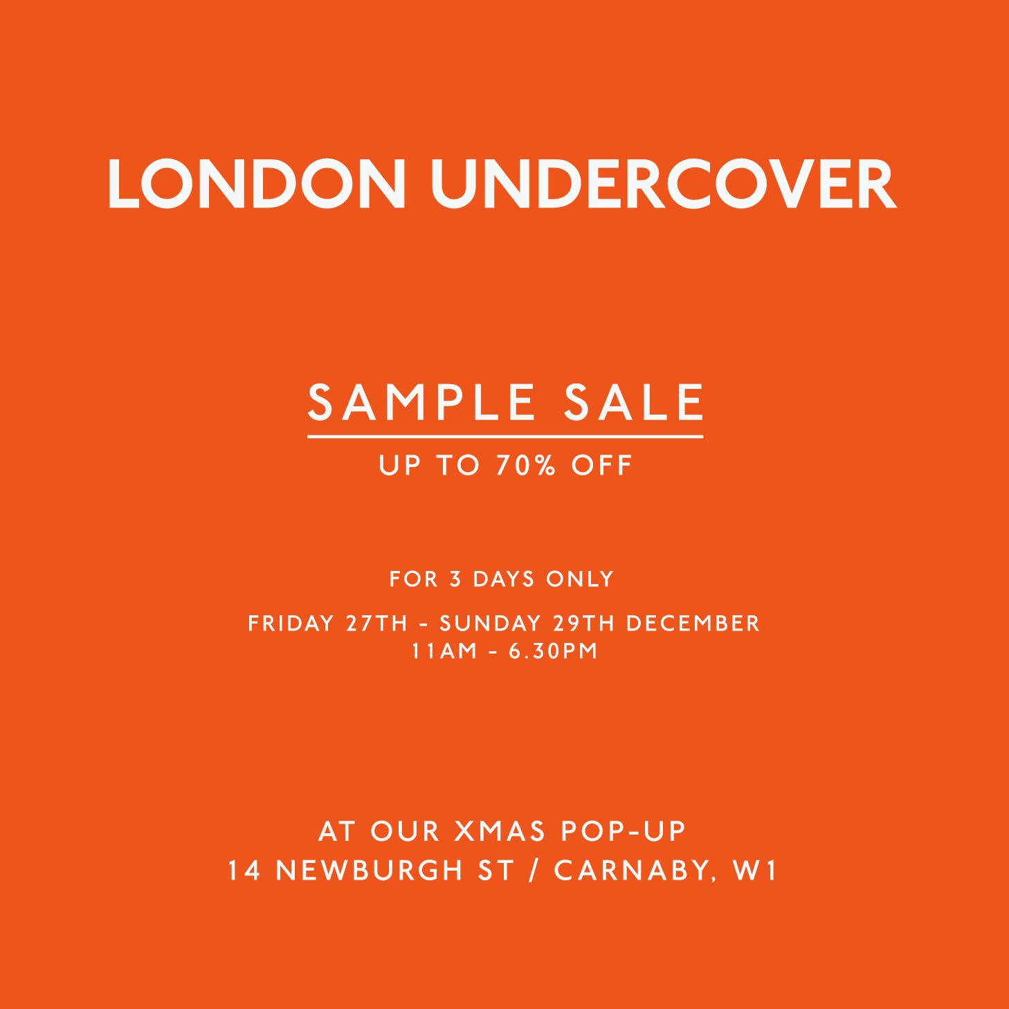 sample sale « LONDON UNDERCOVER UMBRELLAS | Umbrella & Accessories ...