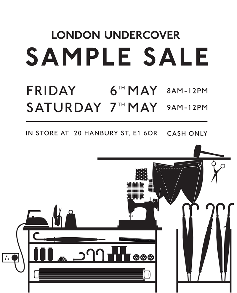 SAMPLE-SALE-LONDON-UNDERCOVER
