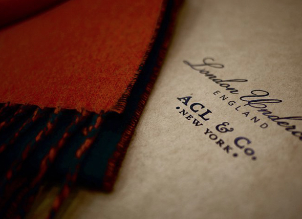 London Undercover x ACL & Co. Cashmere Scarf