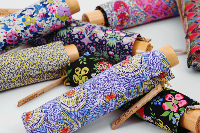 Liberty print umbrellas by london undercover