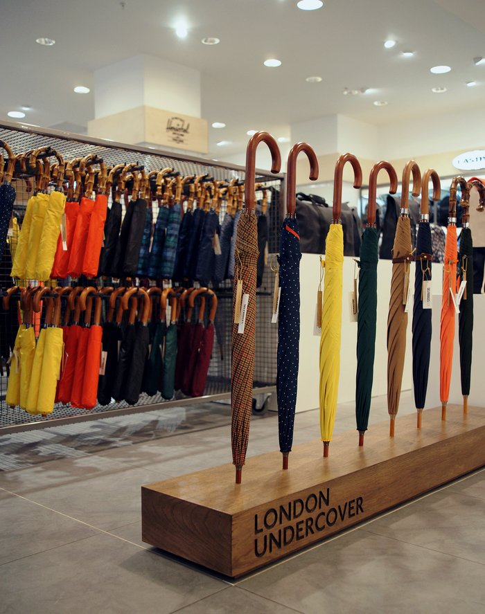 Selfridges london undercover april showers pop up 01
